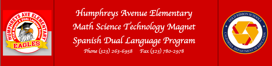 Humphreys Avenue Elementary, MST Magnet, Spanish Dual Language Program  Logo